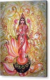 Lakshmi Darshanam Acrylic Print