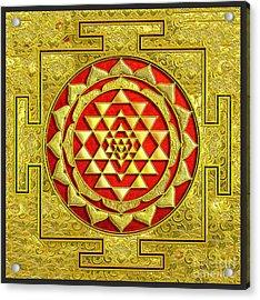 Lakshmi Kubera Yantra Acrylic Print
