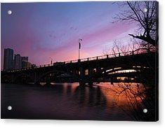 Lamar Blvd Bridge Acrylic Print
