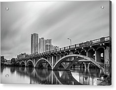 Lamar Bridge In Austin, Texas Acrylic Print