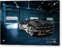 Lamborghini Centenario Lp 770-4 Acrylic Print