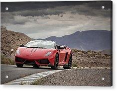 Lamborghini Gallardo Lp570-4 Spyder Performante Acrylic Print