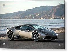 Lamborghini Huracan Acrylic Print by Drew Phillips