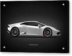 Lamborghini Huracan Acrylic Print by Mark Rogan