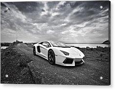 Lamborgini Aventador Acrylic Print