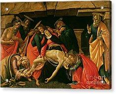 Lamentation Of Christ Acrylic Print