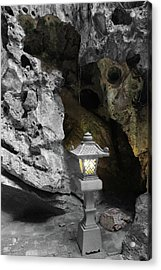 Lamp In Marble Mountain Acrylic Print