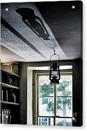 Lamp Light And Shadow Acrylic Print