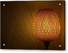 Lamp Acrylic Print by RKAB Works