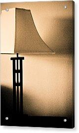 Lamp Acrylic Print by Roberto Bravo