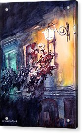 Lamplight Acrylic Print by Gyorgy Ozsvath