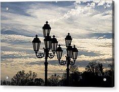Lampposts Acrylic Print