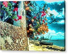 Lamu Beach Acrylic Print