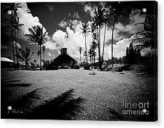 Acrylic Print featuring the photograph Lanakila Ihiihi O Iehowa O Na Kaua Church Keanae Maui Hawaii by Sharon Mau