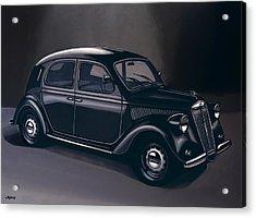Lancia Ardea 1939 Painting Acrylic Print by Paul Meijering