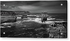 Land And Sea Acrylic Print by Mark Lucey