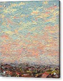 Land And Sky 3 Acrylic Print