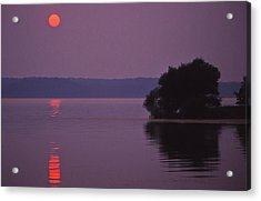 Land-between-the-lakes Sunset - 1 Acrylic Print by Randy Muir