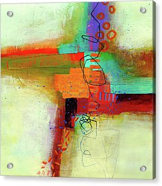 Land Line #1 Acrylic Print by Jane Davies