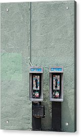 Land Line Acrylic Print by Dan Holm