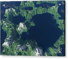 Land Of A Thousand Lakes Acrylic Print by Gaspar Avila