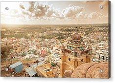 Land Of Antiquities Acrylic Print by Srinivasan GS