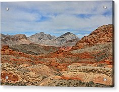 Acrylic Print featuring the photograph Land Of Fire by Tammy Espino