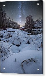 Land Of Narnia Acrylic Print by Aaron J Groen