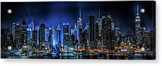 Land Of Tall Buildings Acrylic Print