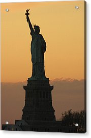 Land Of The Free And The Brave Acrylic Print by Emmy Marie Vickers