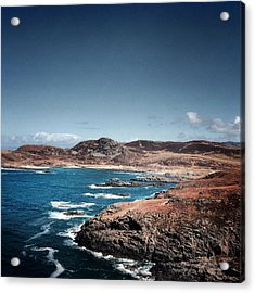 Land On The Edge Of The World - Ardnamurchan #5 Acrylic Print by Kate Morton
