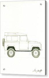 Land Rover Defender Acrylic Print