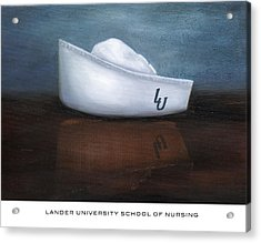 Lander University School Of Nursing Acrylic Print