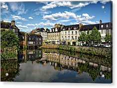 Landerneau Village View Acrylic Print