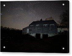 Landfall At Night Acrylic Print