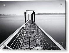 Landing Dock Acrylic Print