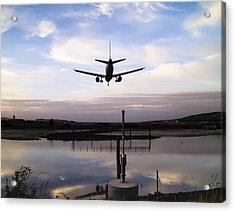 Landing In George Best Acrylic Print