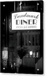 Landmark Diner Acrylic Print