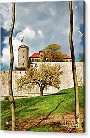 Landmark Sparrenburg Castle Acrylic Print