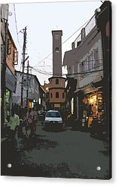 Landour Clock Tower Acrylic Print