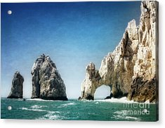 Acrylic Print featuring the photograph Lands End by Scott Kemper