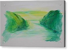 Landscape 1 Acrylic Print by Amy Stewart Hale