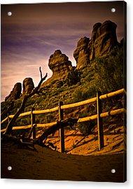 Landscape Arch 3 Acrylic Print