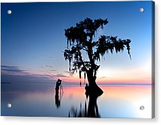 Acrylic Print featuring the photograph Landscape Backstage by Evgeny Vasenev