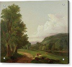 Landscape Based Acrylic Print by James
