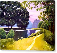 Landscape  Acrylic Print by Carola Ann-Margret Forsberg