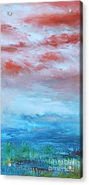 Acrylic Print featuring the painting Landscape El Natural by Terri Thompson