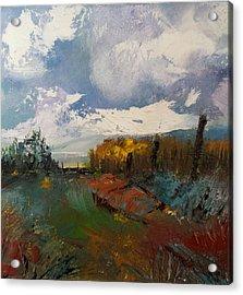 Landscape Impression Acrylic Print