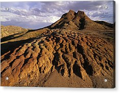 Landscape Of Dirt In Rural Wyoming Acrylic Print by Bobby Model