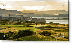 Landscape Of St Andrews Home Of Golf Acrylic Print